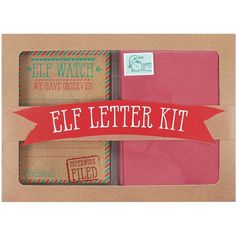Buy Christmas Elf Letter Kit and other products in Gifts and Gadgets at ozgameshop.com. Order today and receive free shipping on orders over $50 and hassle-free returns on all our products. Elf Letters, Cosmetic Contact Lenses, Gadget Gifts, Gift Vouchers, Novelty Gifts, Christmas Elf, Sign I, Home Gifts, Card Games