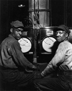 Kettle Tenders, Pittsburgh, PA 1944 (by Gordon Parks)