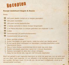 Dadeltaart, bagels&beans recept