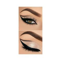 21 Smokey Eye Makeup Ideas For Super Sexy Look ❤ liked on Polyvore featuring beauty products, makeup and eye makeup