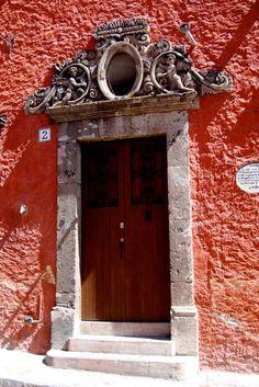 Puerta de casa - San Miguel, El Salvador