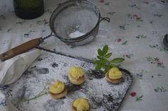 citrus mexican wedding cookies — vermilion red Vermilion Red, Mexican Wedding Cookies, Griddle Pan, Decor, Decoration, Grill Pan, Decorating, Deco