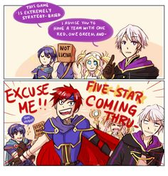 Pretty much.  5 star Roy and Chrom you're good to go.