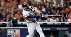 Why the Yankees shouldn't place Giancarlo Stanton on the injured list - Pinstripe Alley My Yankees, New York Yankees, Mlb Rules, Brett Gardner, Giancarlo Stanton, In The Hole, T Play, Fox Sports, Man Up