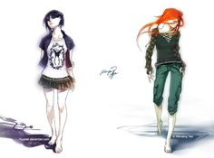 Ice and Fiery by `yuumei on deviantART