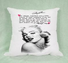 Hot Marilyn Monroe Quotes High Quality Pillow Case Cushion 16 18 20 2 Side Cover #winter2018 #spring2018 #fall208 #summer2018 #autumn2018 #vogue2018 #valentine2018 #2018fashion #2018wedding #2018Goals #2018 #christmas2018 #thanksgiving2018 #halloween2018 #spring #winter #autumn #fall #summer #vogue #valentine #wchristmas #thanksgiving #halloween #wedding #marilynmonroe #marilynmonroefans #marilynmonroefan #marilynmonroeart #marilynmonroequotes #marilynmonroeportrait #MarilynMonroeTattoo…