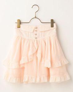 ティアードスカート Japan Fashion, Kawaii Fashion, Cute Fashion, Girly Outfits, Cute Outfits, Liz Lisa, Ballet Skirt, Take That, Skirts
