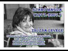 Szabó Magda - Zsuzsa levele - Álarcosbál - Zene és elmondja: Forgács-Fej... Jog, Minden, Internet, Friends, Amigos, Boyfriends