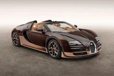 "OMG!! Beautiful! I want one! Bugatti Legends Veyron 16.4 Grand Sport Vitesse ""Rembrandt Bugatti"" Edition"