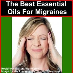 The Best Essential Oils For Migraines