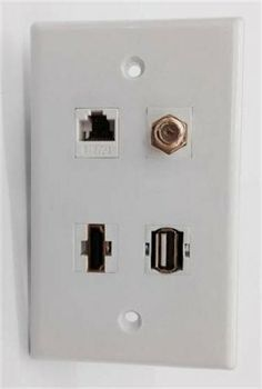 Ethernet And Coax Wall Plate Captivating Northern Passages  Corn Hole Game Custom Wall And Exceed Inspiration