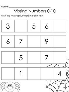 Worksheets Kindergarten And First Grade Worksheets missing numbers for first grade kindergarten and worksheets that reinforce common core standards including writing