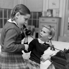 'All I Want for Christmas': Kids on the Phone With Santa, 1947 | LIFE.com