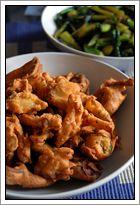 pakora's groente