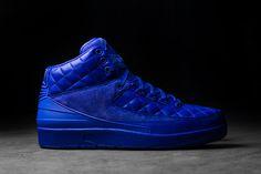 Click to order - Air Jordan 2 Retro Quilted Blue  #fashion #nike #shopping #sneakers #shoes  #basketballshoes #airjordan #retro