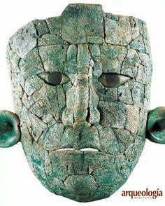 Máscara de la Reina Roja cultura maya