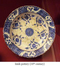 Iznik pottery, 16th. century