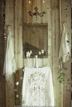 Antique white, beauty of linens