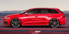 One of the great things about Photoshop is that it allows pretty much anyone to envision cars that would take auto manufacturers months or years to create. With a basic amount of time and skill invested, you can have whatever you want. Like the A3 clubsport quattro concept from Worthersee? Would you like it more as an Avant? Audi Wagon, Audi A6, Car Car, Porsche, A3, Wheels, Aesthetics, Photoshop, Autos
