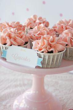 Morgan's Christening styled by My Little Jedi  Cupcakes by Sweet Bloom Cakes