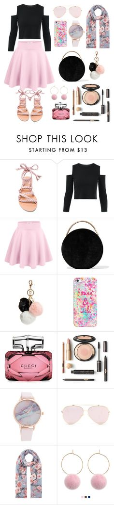 """""""Untitled #4"""" by sisinia ❤ liked on Polyvore featuring Ancient Greek Sandals, Eddie Borgo, GUESS, Casetify, Gucci and Accessorize"""