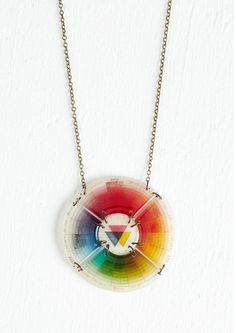 oh my loveee ...color wheel necklace