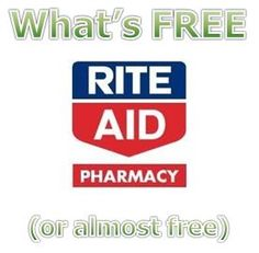 What's FREE (or almost free) at Rite Aid 2/15-2/21 - http://www.couponaholic.net/2015/02/whats-free-or-almost-free-at-rite-aid-215-221/