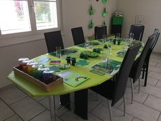 This year was the fourth time that I wanted to have a St. Patrick's Day Party at our house. Minecraft Shops, Chocolate Gold Coins, Green Wrapping Paper, Raw Salmon, Hiding Spots, Peeling Potatoes, St Patricks Day, No Time For Me, Party