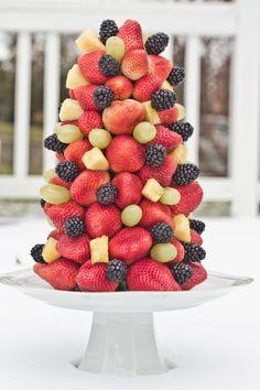 Fruit tree christmas tree