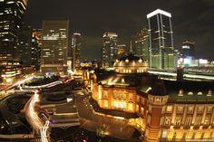 KITTEからの東京駅。