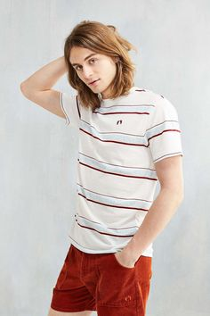Hang Ten Cowels Striped Tee - Urban Outfitters