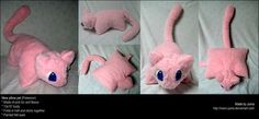 Mew pillow pet by ~Neon-Juma on deviantART