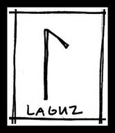 LAGUZ All water flows eventually Shape shifting Life giving Death dealing The power of water