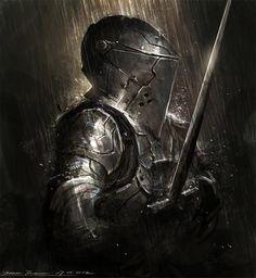 knightandknights:  Armor study by johnsonting