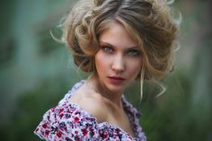 *** by Anishchenko Anastasia Braided Waves, Ginger Hair, Photos Of Women, Hair Pictures, Anastasia, Ponytail, Hair Inspiration, Bobby Pins, Curls