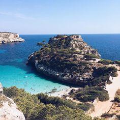 Calo des Moro, Mallorca via @elkespelters