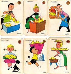 EL JUEGO DE LAS 7 FAMILIAS  era y es una baraja preciosa de cartas infantiles que nos enamoraron a miles de niños y niñas de los año...