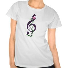 Trouble Clef Tee Shirts