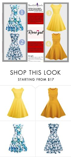"""""""Rosegal"""" by aida-ida on Polyvore featuring vintage"""