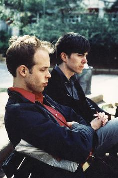 Will Oldham & Bill Callahan. Spain, 1996. Photo: Alicia Aguilera