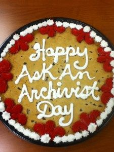 June 9th 2011, on International Archives Day, the worldwide Twitter event #AskArchivists Day took place. About 140 registered (by the organisation of Ask Archivists) archives and independant archivists all over the world joined te event and answered questions of tweeps and other archives and archivists.