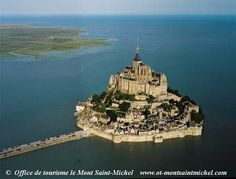 Mont St. Michel in NorthWest France, very unique a must see!