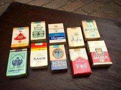 Geleneksel sigalar. Hepsi paketinde. #old #vintage #retro #cigarette #traditional #turkish #balat