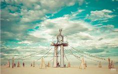 Surreal photos from Burning Man 2016.