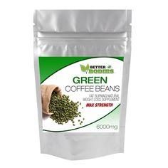 £6.9 GBP - Green Coffee Bean Extract Max Strength 6000Mg Weight Loss Slimming Fat Burn Pill #ebay #Fashion