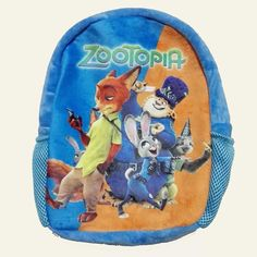 Plush Backpack Zootopia Baby Anime Backpacks Lovely Kids Backpack for Boys Girls Judy Hopps Nick Wilde Zootropolis school bags
