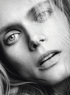 Małgosia Bela by Nico for Madame Figaro February 2015 beauty