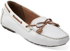 Really want this pr for summer! Dunbar Racer in White Leather - Womens Shoes from Clarks Spring Shoes, Shoe Sale, Comfortable Shoes, Timeless Fashion, Clarks, White Leather, Spring Summer Fashion, Boat Shoes, Me Too Shoes