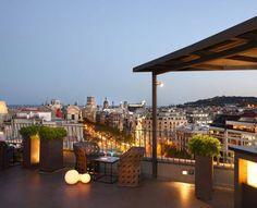 Iluminación Terraza y Solarium Hotel Majestic