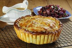 Maggie Beer's Sour Cream Pastry is a quick and easy pastry which is perfect for baking pies and tarts. Chicken And Mushroom Pie, Beer Chicken, Pastry Recipes, Baking Recipes, Baking Pies, Partridge Recipe, Pheasant Recipes, Gluten Free Pastry, Tacos